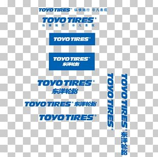Logo Toyo Tire & Rubber Company Brand PNG