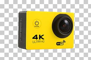 Action Camera 4K Resolution Video Cameras Wide-angle Lens PNG