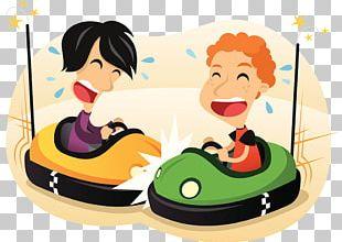 Bumper Cars Bumper Cars Illustration PNG
