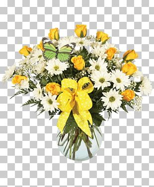 Floral Design Flower Bouquet Cut Flowers Vase PNG