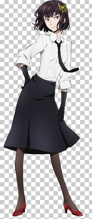 Bungo Stray Dogs Cosplay Costume Anime Writer PNG