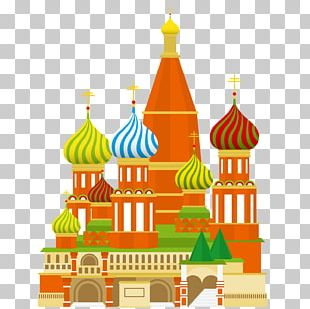 Moscow Kremlin Red Square Spasskaya Tower Saint Basil's Cathedral Rome PNG