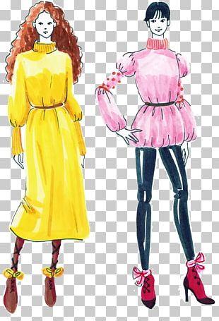 Fashion Design Fashion Illustration Woman PNG