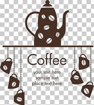 Coffee Wall Decal Sticker Cafe PNG