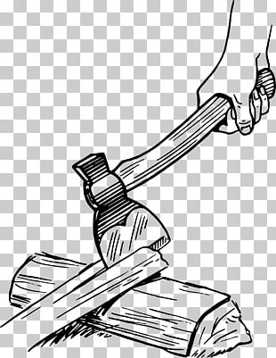 Axe Hatchet Drawing PNG