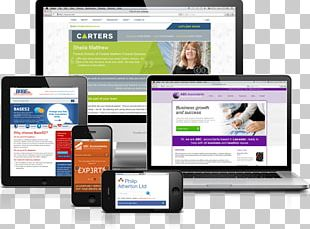Web Page Responsive Web Design Home Page PNG