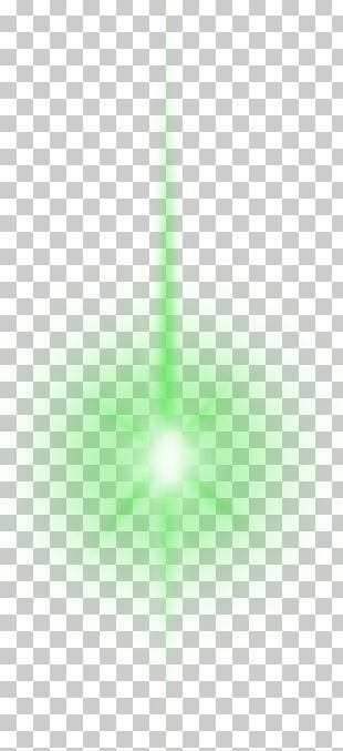 Light Lens Flare Green PNG