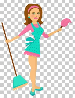 Maid Service Cartoon Housekeeper Drawing PNG