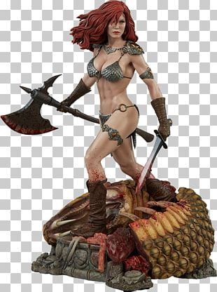 Red Sonja PNG