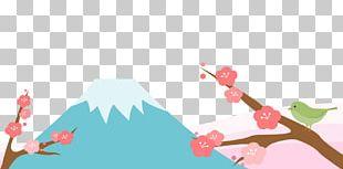 Mount Fuji Illustration Mountain Koryaksky PNG
