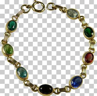 Turquoise Bracelet Necklace Gold-filled Jewelry Bead PNG