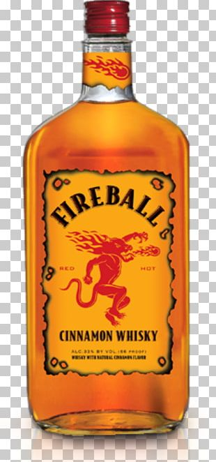 Whiskey Distilled Beverage Wine Fireball Cinnamon Whisky Liqueur PNG