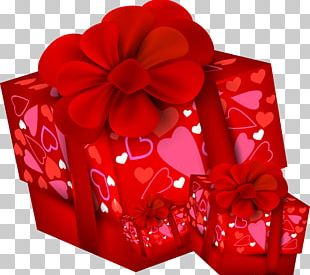 Paper Valentine's Day Gift PNG