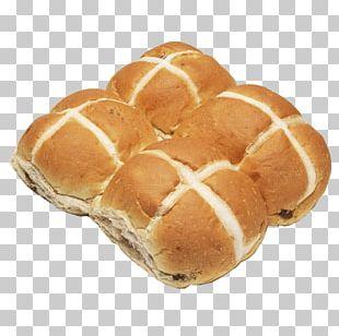Lye Roll Hot Cross Bun Rye Bread Toast Bakery PNG