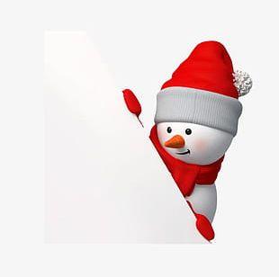 Snowman Christmas S PNG