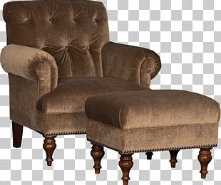 Club Chair Foot Rests Furniture Couch PNG