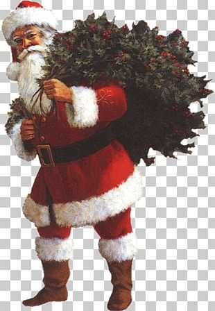 Santa Claus Christmas Ornament Ded Moroz New Year PNG