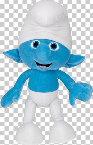 Papa Smurf Smurfette Clumsy Smurf Gargamel Stuffed Animals & Cuddly Toys PNG