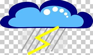 Thunder Lightning Cloud Computer Icons PNG