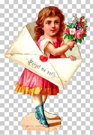Flower Girl Vintage Clothing PNG