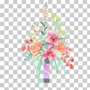 Watercolor: Flowers Watercolor Painting Flower Bouquet PNG