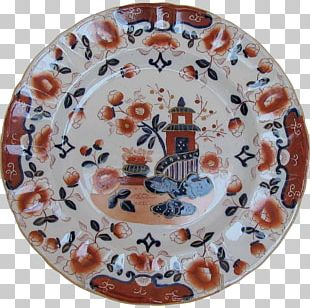 Plate Ceramic Porcelain Imari Ware Blue And White Pottery PNG