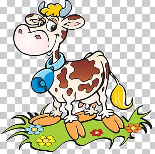 Cattle Funny Animal Little Cow PNG