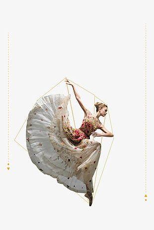 Dancing Woman PNG