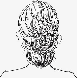 Bride Plate Hair PNG