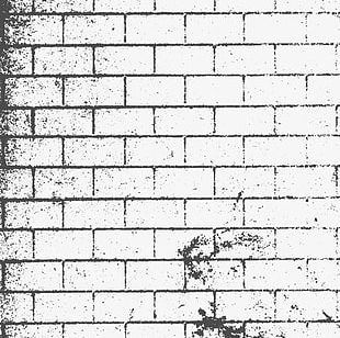Old Wall Black And White Background PNG