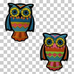 Owl Embroidery Embroidered Patch Appliqué Sewing PNG