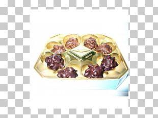 Praline Petit Four Chocolate Flavor PNG