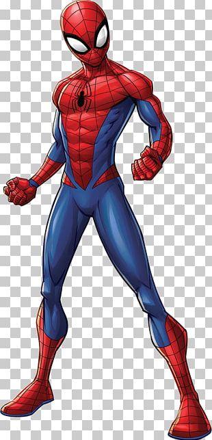 Spider-Man Iron Man Thor Marvel Comics Spider-Verse PNG