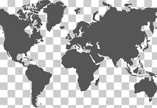 World Map Globe Printing PNG