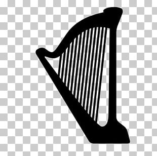 Harp Musical Instruments PNG