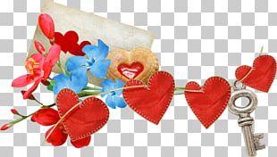 Love Heart Flower PNG
