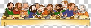 The Last Supper Eucharist PNG