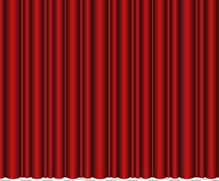 Window Curtains Close Theater Drapes And Stage Curtains PNG