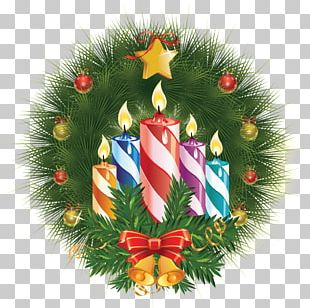Birthday Cake New Years Day Christmas Candle PNG