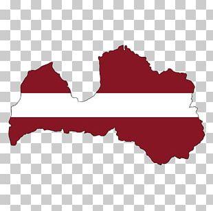 Latvia World Map PNG