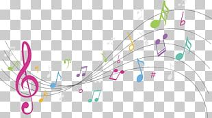 Graphic Design Musical Note Background Music PNG
