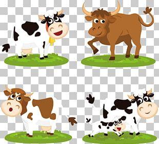 Beef Cattle Cartoon PNG