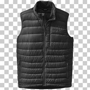 Down Feather Bodywarmer Gilets Jacket Daunenjacke PNG