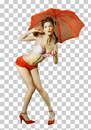 Umbrella Woman Ombrelle Lingerie Ball Gown PNG