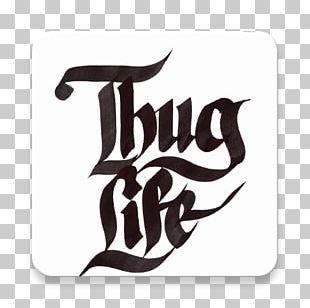 T-shirt Thug Life Gangsta Rap Hip Hop Music PNG