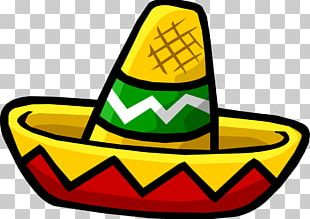 Club Penguin Sombrero Mexican Cuisine Hat PNG