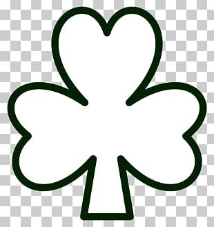 Shamrock Coloring Book Saint Patricks Day Page PNG