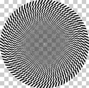 Optical Illusion Optics Fraser Spiral Illusion Barberpole Illusion PNG
