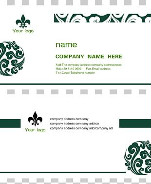 Paper Business Card Printing Visiting Card PNG