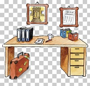Desk Table Drawing Furniture PNG